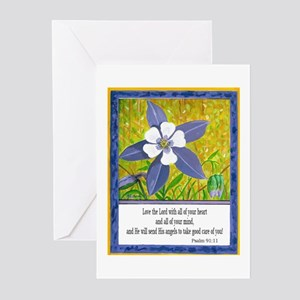 A Delightful Columbine! Greeting Cards (Package of