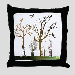 Natural Trumpets Throw Pillow