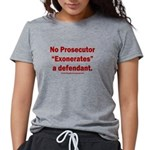 Exoneration Womens Tri-blend T-Shirt