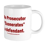 Exoneration 20 oz Ceramic Mega Mug