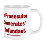 Exoneration 11 oz Ceramic Mug