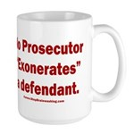 Exoneration 15 oz Ceramic Large Mug