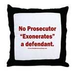Exoneration Throw Pillow