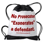 Exoneration Drawstring Bag