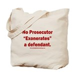 Exoneration Tote Bag