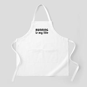 Running is my life Apron