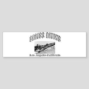 Chavez Ravine Sticker (Bumper)