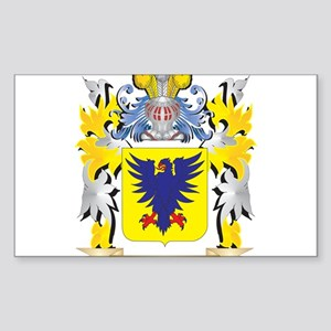 Rous Family Crest - Coat of Arms Sticker