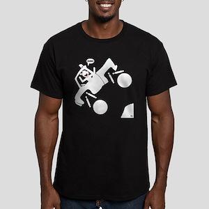 GOT AIR 2b Men's Fitted T-Shirt (dark)