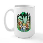 Geek's World Cast Large Mug