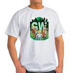 Geek's World Cast Ash Grey T-Shirt