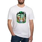 Geek's World Cast Fitted T-Shirt
