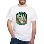 Geek's World Cast White T-Shirt