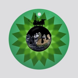 Oil Spill Version 2 Ornament (Round)