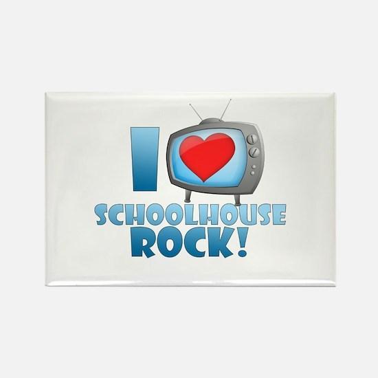 I Heart Schoolhouse Rock Rectangle Magnet