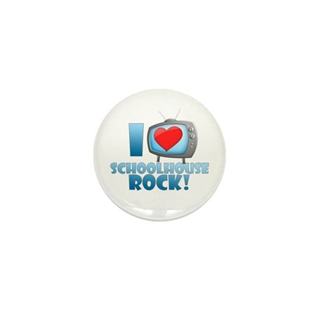 I Heart Schoolhouse Rock Mini Button (100 pack)
