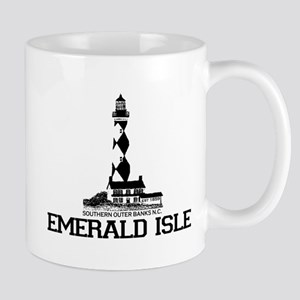 Emerald Isle NC - Lighthouse Design Mug