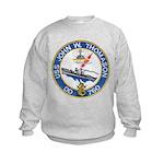 USS JOHN W. THOMASON Kids Sweatshirt