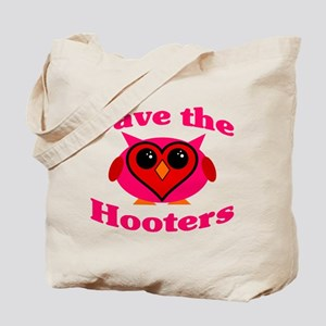 Save the Hooters v2.0 Tote Bag