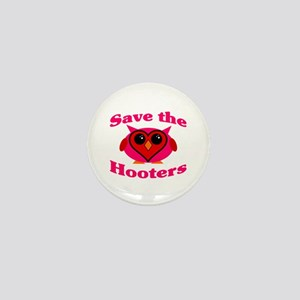 Save the Hooters v2.0 Mini Button