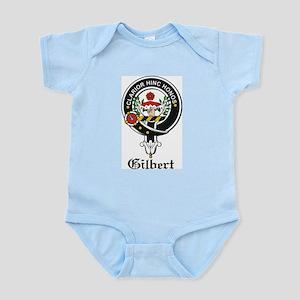 Gilbert Clan Crest Badge Infant Creeper