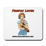 Firefox Lover Mousepad