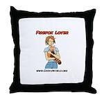 Firefox Lover Throw Pillow