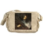 Those Eyes Messenger Bag