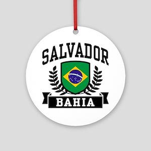 Salvador Bahia Brazil Ornament (Round)