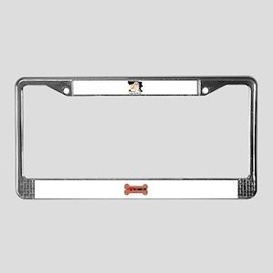 I LOVE MY SHIH TZU License Plate Frame