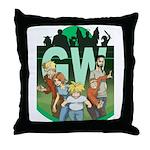 Geek's World Cast Throw Pillow