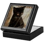 Little Black Kitten Keepsake Box