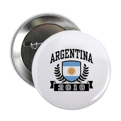 """Argentina 2010 2.25"""" Button"""