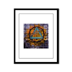 All things Sacred Framed Panel Print