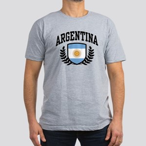 Argentina Men's Fitted T-Shirt (dark)