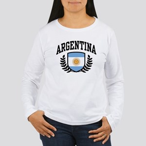 Argentina Women's Long Sleeve T-Shirt