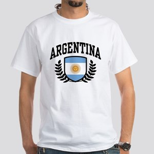 Argentina White T-Shirt