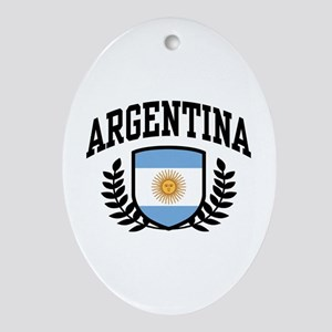 Argentina Ornament (Oval)