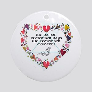 All things Sacred Ornament (Round)