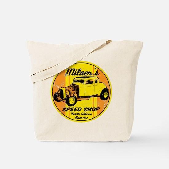 Milner's Speed Shop Tote Bag