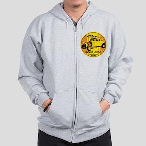 Milner's Speed Shop Zip Hoodie