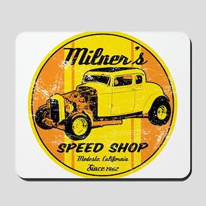 Milner's Speed Shop Mousepad