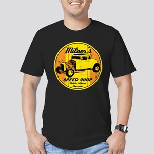 Milner's Speed Shop Men's Fitted T-Shirt (dark)