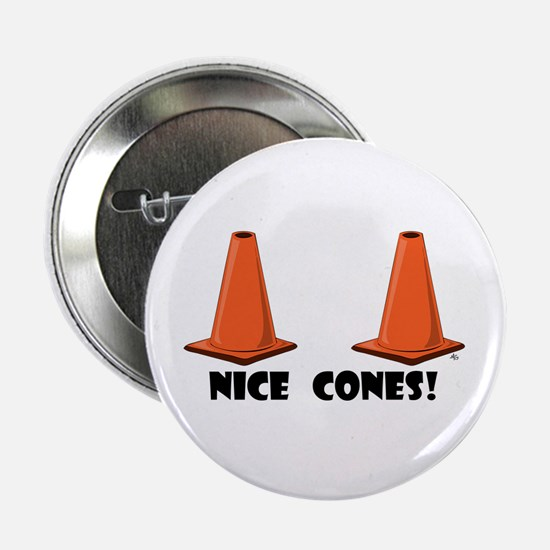 "NICE CONES 1w 2.25"" Button"