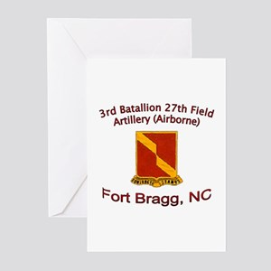 3rd Bn 27th FA Greeting Cards (Pk of 10)
