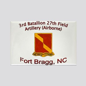 3rd Bn 27th FA Rectangle Magnet
