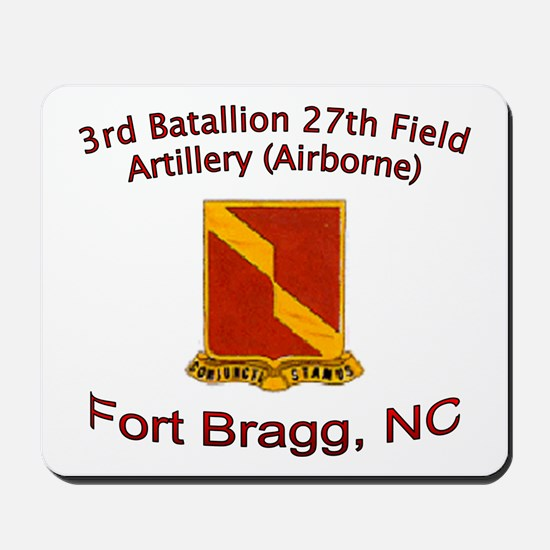 3rd Bn 27th FA Mousepad