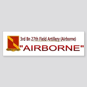 3rd Bn 27th FA Sticker (Bumper)