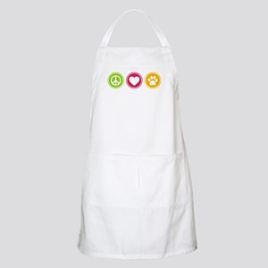 Peace - Love - Dogs Apron