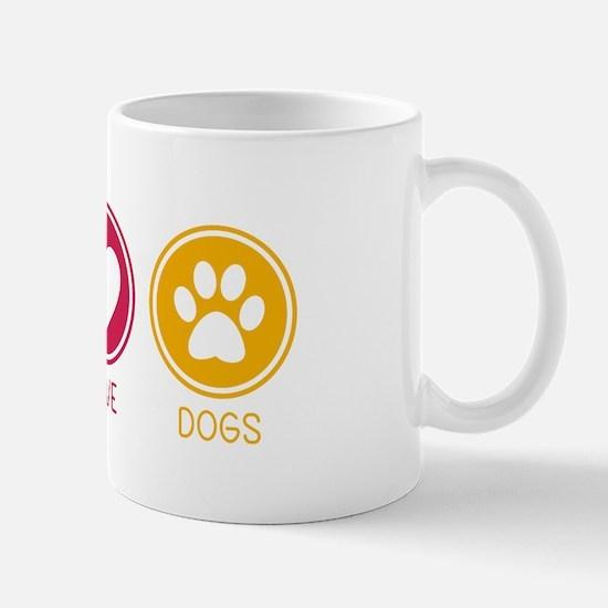 Peace - Love - Dogs 1 Mug